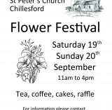 2015 Harvest Flower Festival poster