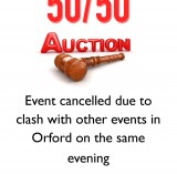 Auction poster cancelled