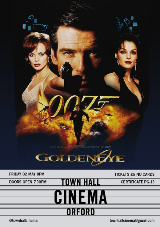 Golden eye poster