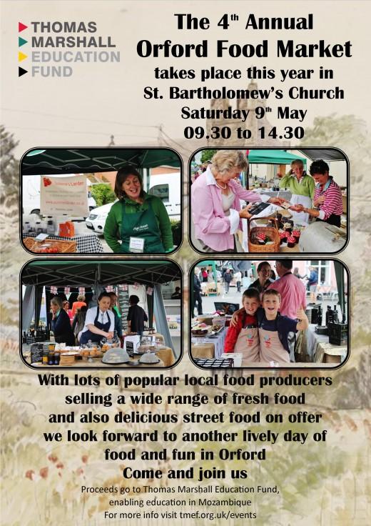 food market 2015 poster A4
